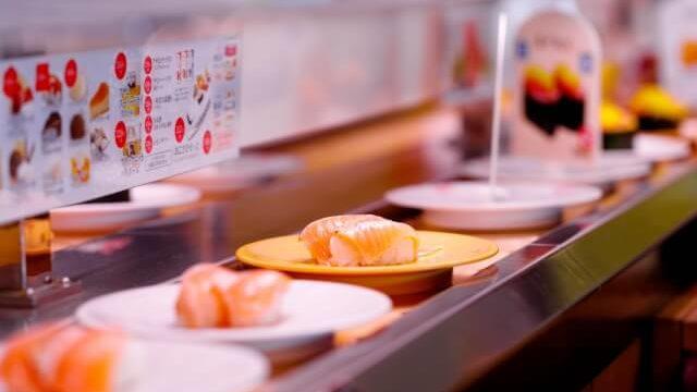 ダイエットに回転寿司