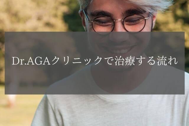 Dr.AGAクリニックで治療する流れ